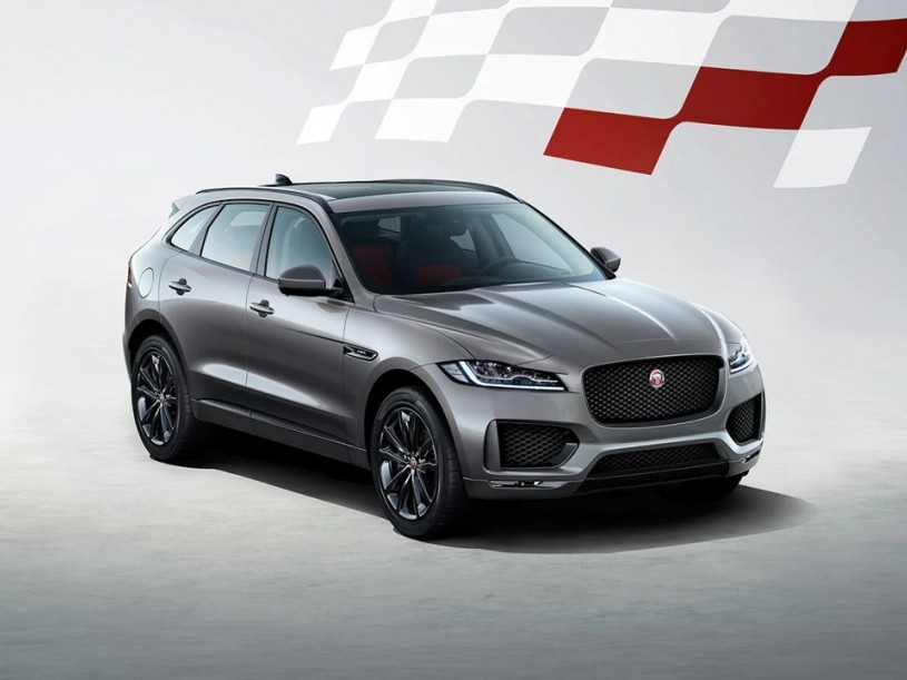 Jaguar F-pace Estate Special Editions 2.0d [180] Chequered Flag 5dr Auto AWD