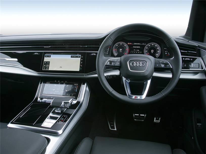 Audi Q7 Estate 55 TFSI Quattro Black Edition 5dr Tiptronic