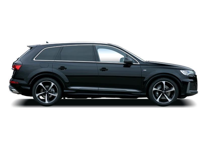 Audi Q7 Diesel Estate 45 TDI Quattro Black Edition 5dr Tiptronic [C+S]