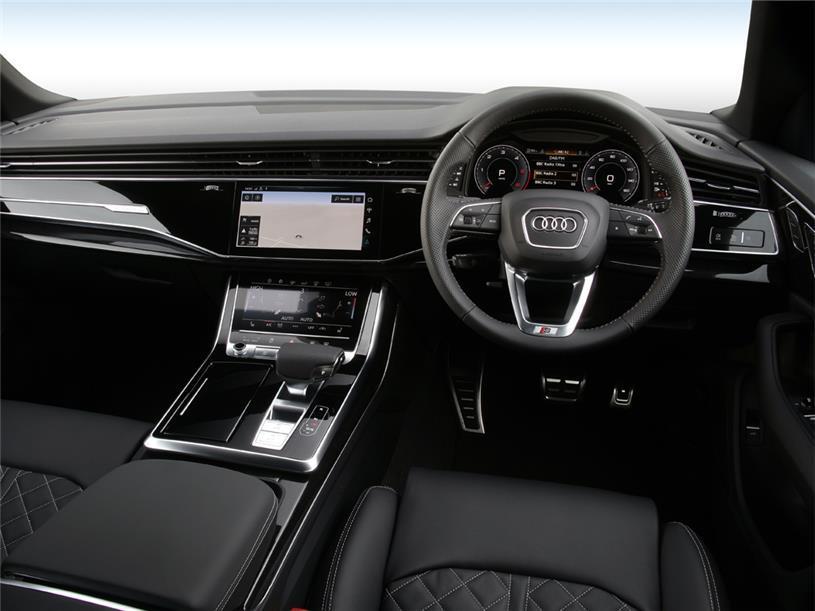 Audi Q8 Estate 55 TFSI e Quattro Black Edition 5dr Tiptronic