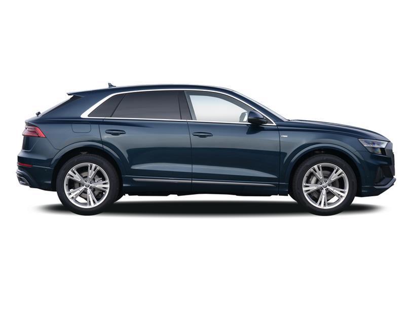 Audi Q8 Estate 55 TFSI Quattro Black Edition 5dr Tiptronic [C+S]