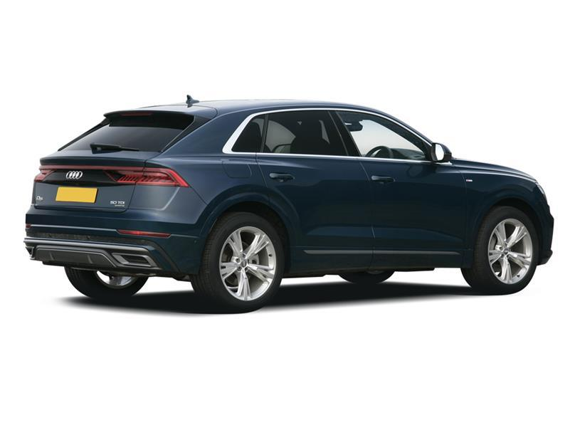 Audi Q8 Estate 55 TFSI Quattro Black Edition 5dr Tiptronic [C+S]