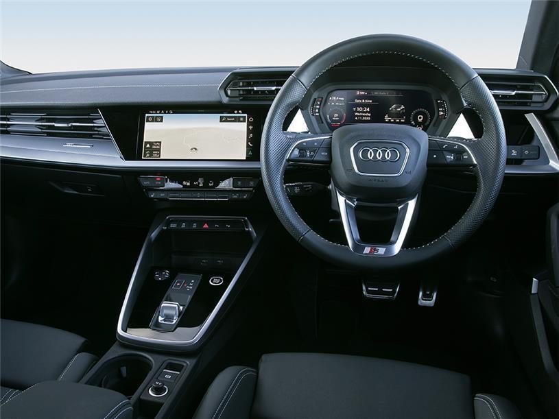 Audi A3 Saloon 40 TFSI Quattro S line 4dr S Tronic [C+S]