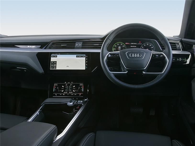 Audi E-tron Sportback 300kW 55 Quattro 95kWh Black Edition 5dr Auto