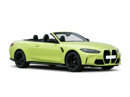 BMW M4 Convertible M4 xDrive Competition M 2dr Step Auto [Ultimat Pk]