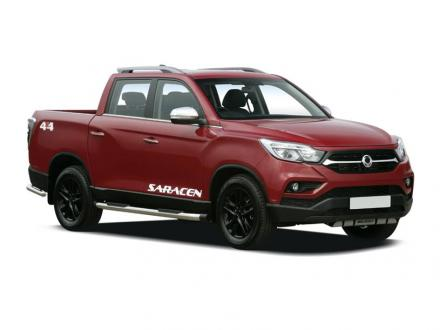 Ssangyong Musso Diesel Double Cab Pick Up Rebel 4dr AWD