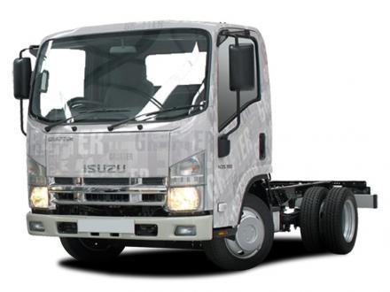 Isuzu Trucks N35.150w Grafter Blue Lwb Diesel Chassis Wide Cab